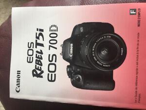 Canon Rebel T5i eos 700D