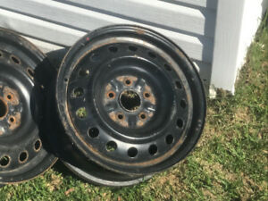 Set of 4... 16 inch Steel Rims