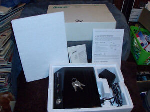 QUORUM A-160 SECURITY SYSTEM WITH KEYS & INSTRUCTIONS ALARM SYST