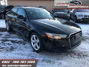 2013 Audi A6 PREMIUM AWD..2.0T.. ONE OWNER...IMMACULATE  - One o