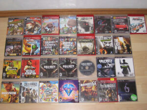 PS3 GAMES FOR SALE - ONLY $5 EACH!