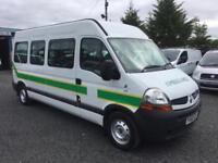 Renault MASTER 2.5 100.35 LWB ambulance patient transport bus 2010 60 Reg