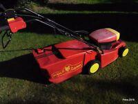 Wolfgarten Electric Lawn Mower