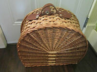 Vintage - Wicker? Rattan? - Storage/Suitcase
