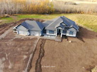 Aerial shots (a sky view) of your property/cottage/farm