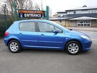 Peugeot 307 1.6HDi ( 90bhp ) S 5 Door Hatch Back