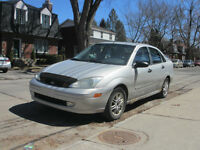 2002 Ford Focus SE Sedan