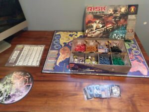 Board game lot, Arkham Horror, Risk 2210, Battlelore, Stratego