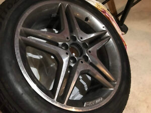 Mercedes-Benz AMG Winter Tires and Alloy Rims