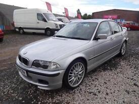 BMW 330D 'SPORT'~Y'2001~MANUAL !!~4 DOOR SALOON~STUNNING SILVER~VERY SOLID CAR