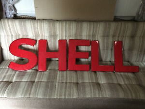 Vintage Shell Sign, Quaker State, Neon Cows Sign
