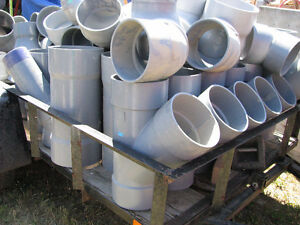 Large PVC Drain Pipe Connection Fittings