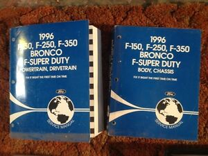 96 Ford Truck book set