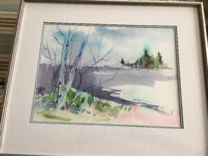 Susan Hubley Watercolour
