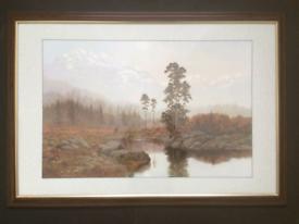 Gerald Coulson Large Highland framed print