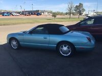2002 Ford Thunderbird Convertible my wife's car since new!!