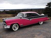 1956 ford victoria 2dr, ht.