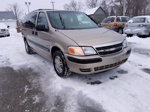2002 Chevrolet Venture Safety and E-Tested