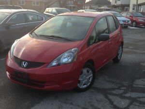 2012 Honda Fit LX Auto Hatchback Only 91000KMS! CERTIFIED!