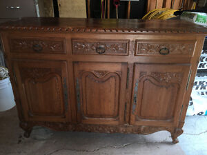 Antique Dining Hutch Made in France