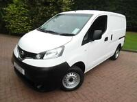 2013/63 Nissan NV200 SE 1.5dCi SWB PANEL VAN WITH REVERSE CAMERA