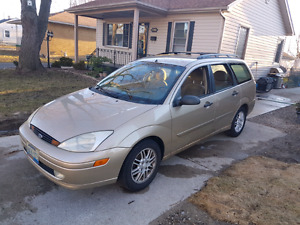 2002 Ford focus wagon 4cyl cheap gas