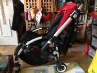 Bugaboo Bee Plus + Red canopy + EXTRAS!!
