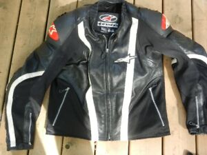 leather motorcycle pants jacket boots glove