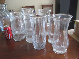 various glass vases - great for any occasion/ wedding $5 each Kitchener / Waterloo Kitchener Area image 8