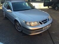 Saab 9-5 2.2 TiD Vector Sport 4dr estate Diesel Manual cheap tax 12 months mot only