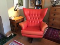 Original G-Plan James Bond Swivel chair