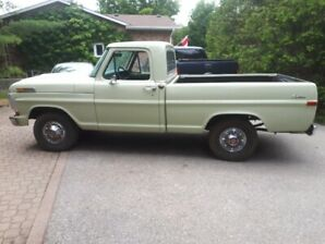 1971 Ford F100 Virginia shortbox