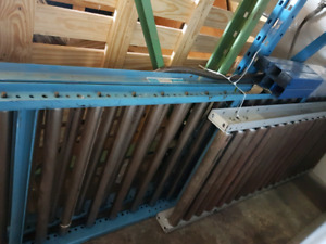MUST GO FAST !! roller conveyors, shelving, racking
