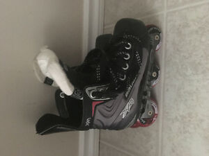 Bauer youth rollerblades