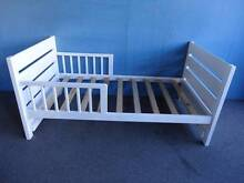 MOTHER'S CHOICE CHILD TODDLER BED WHITE PAINTED TIMBER SLAT BASE Geebung Brisbane North East Preview