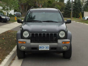 Jeep Liberty Sport - COMES SAFETIED