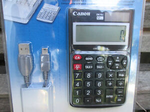 Canon DK-10i 12-Digit USB Calculator New in Package Never Used London Ontario image 3