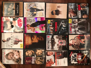Various DVDs and Blu rays