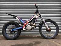 2015 Scorpa Twenty 300 Trials bike, px swap