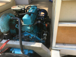 OMC 120 inline 4 motor and outdrive