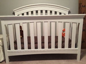 White crib purchased from Sear's