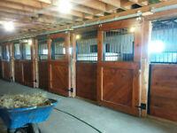 ECURIE A LOUER - STABLE FOR RENT Rive-sud, South Shore