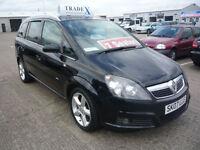 07 REG Vauxhall/Opel Zafira 1.8i 16v ( Exterior pk ) 2007.5MY SRi