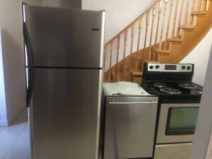 Stainless steel fridge stove dishwasher for sale
