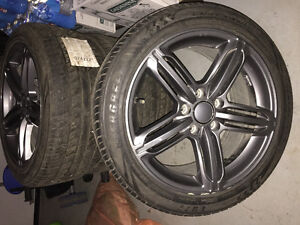225/45/17 VW Jetta Mags With Brand New Summer Tires