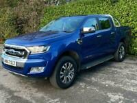 2017 Ford Ranger 3.2 LIMITED 4X4 DCB TDCI 4d 197 BHP Auto PICK UP Diesel Automat