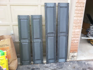 4 Pairs of Exterior Shutters