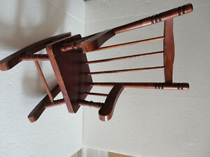 Handmade wooden rocking chair mini decorative London Ontario image 1