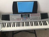 Roland em-15 keyboard and stand
