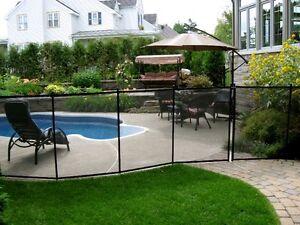 Clôture de piscine amovible sécuritaire ENFANT SÉCURE